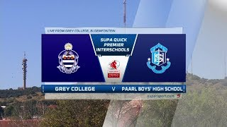 Premier Interschools Rugby | Grey College vs Paarl Boys