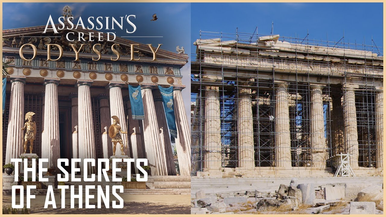 Assassins Creed Odyssey The Secrets Of Ancient Athens Uncovered
