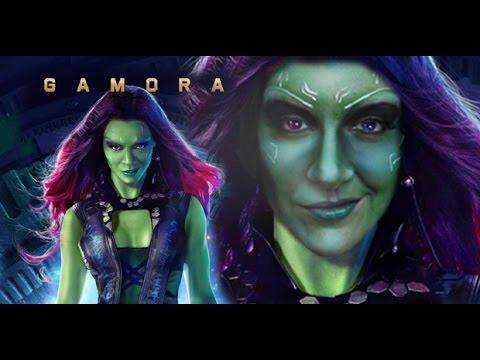 Guardians Of The Galaxy Gamora Transformation - Zoe ...