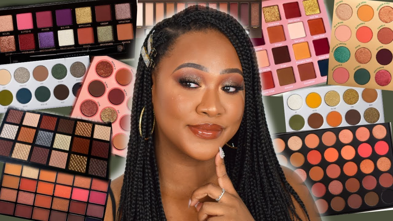 The Best Autumn Fall Eyeshadow Palettes 2019