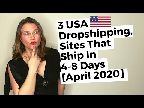 USA Dropshipping Suppliers With FAST Shipping [APRIL 2020]