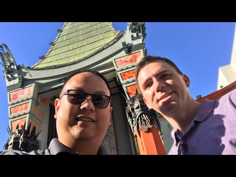 Hollywood's Chinese Theater 360° Walk Through - Courtyard to Seats. (Grauman's/Mann's/TCL) Look up!