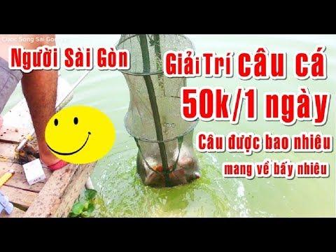 Người dân Sài Gòn Giải Trí câu cá cuối tuần giá 50K/một ngày quá nhiều cá -T1