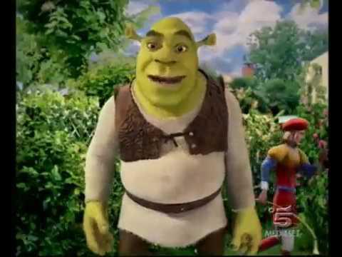 Реклама kinder surprise Киндер Сюрприз  2007г  Шрек 3 Shrek 3