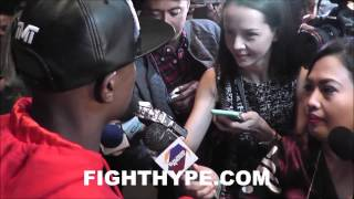 BEING FLOYD MAYWEATHER: ALL QUESTIONS ANSWERED IN MEDIA FRENZY AHEAD OF PACQUIAO CLASH