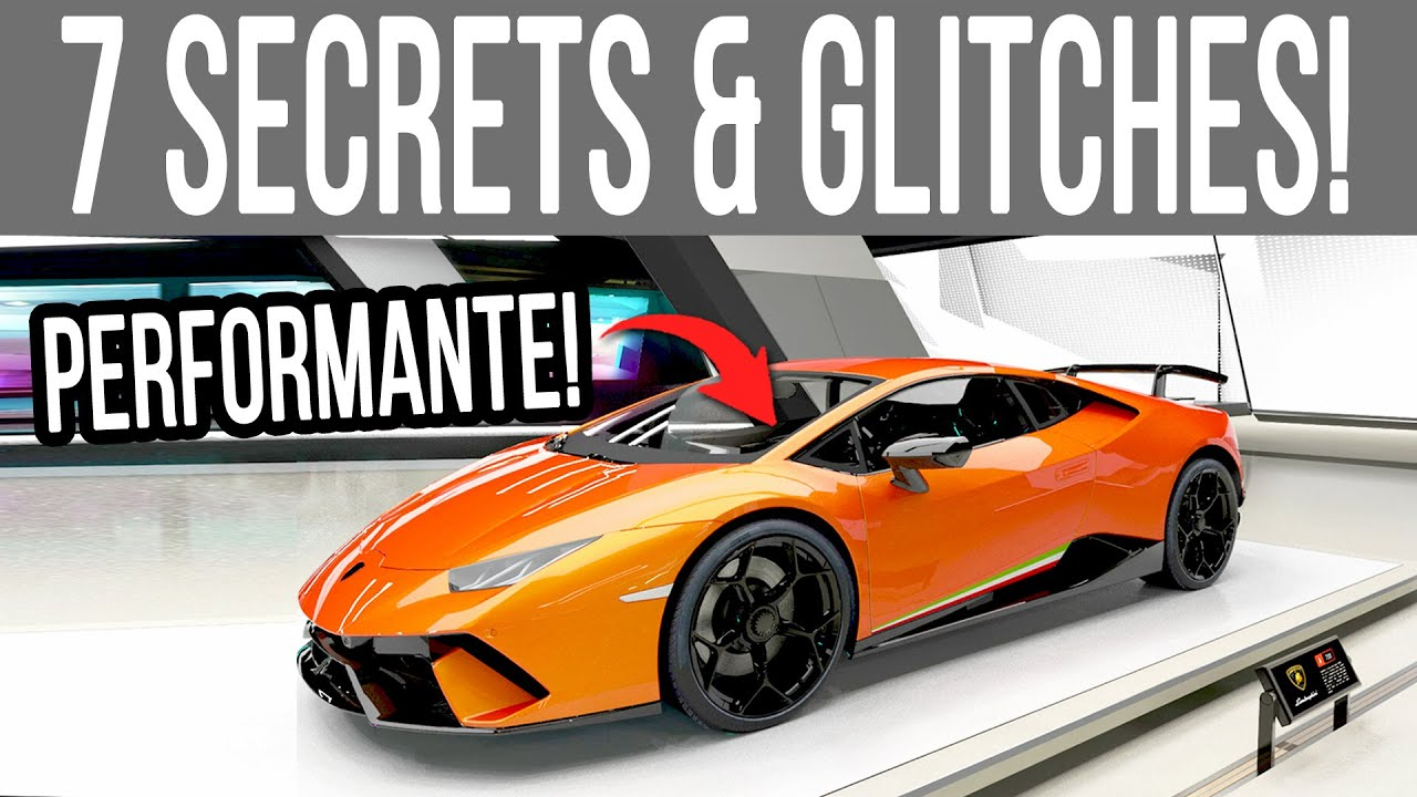 Forza Horizon 4 - 7 NEW Hidden Secrets, Glitches & Features You Didn't Know! thumbnail