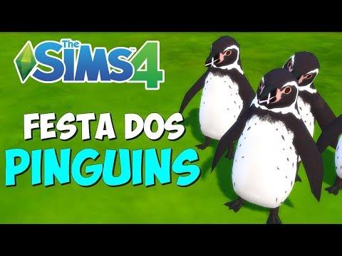 FESTA DOS PINGUINS     The Sims 4