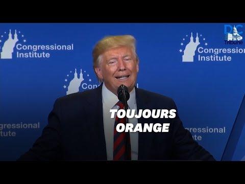 Donald Trump reconnaît qu'il a un teint orange... à cause des ampoules basse consommation