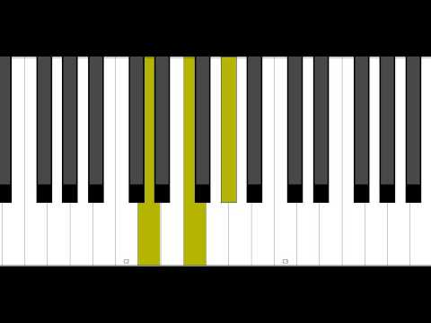 D Diminished Piano Chord Youtube