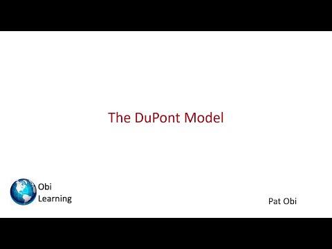DuPont Analysis - Pat Obi
