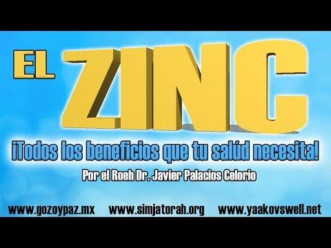 Beneficios del Zinc por el Roeh Dr. Javier Palacios Celorio - Kehila Gozo y Paz