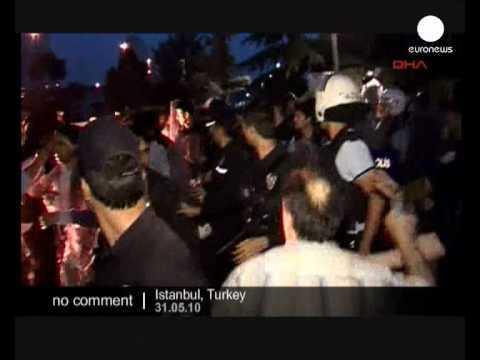 Turkey: Protests over raid on aid flotilla - no comment