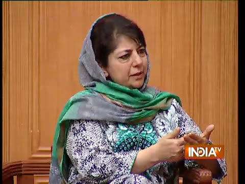 Mehbooba Mufti Speaks on Why She Didn't Become CM of J&K - India TV