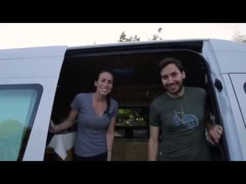 Sprinter Van Conversion - Van Life Tour - Sprinter Van Diaries