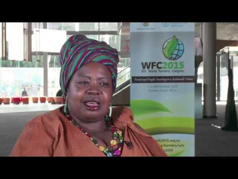 World Forestry Conference 2015   Durban   Gertrude Kenyangi