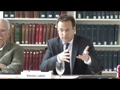 HLS Library Book Talk | 'Constitutional Pluralism in the EU' by Klemen Jaklic