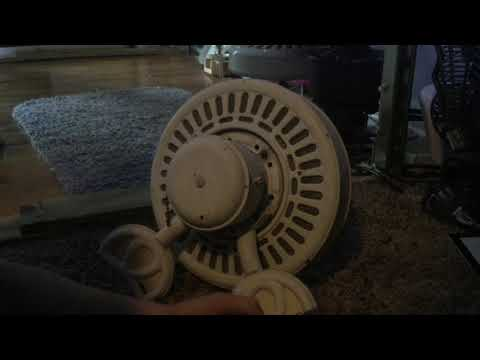 Cleaning up the 2 Hampton Gazebo ceiling fans part 2