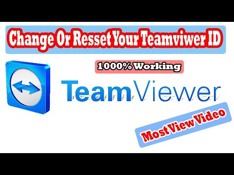 How to change or reset team viewer ID-Commercial Use Detected Solved