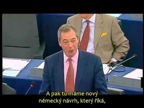 """Nigel Farage: """"Jste obyčejní zločinci"""""""