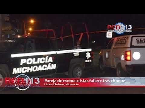 VIDEO Pareja en moto fallece tras ser embestida por un taxi