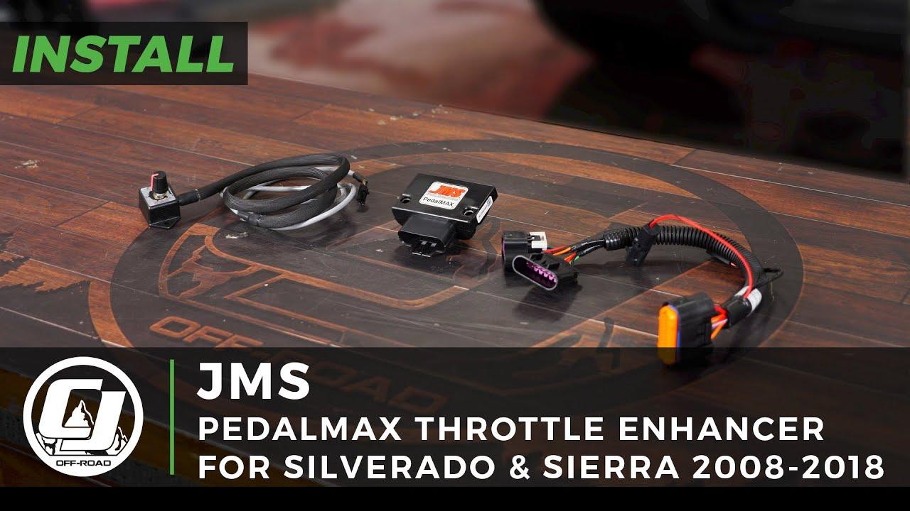 JMS Throttle Enhancer PedalMAX Plug-N-Play Drive-By-Wire Chevrolet  Silverado 1500/GMC Sierra 1500 2008-2018