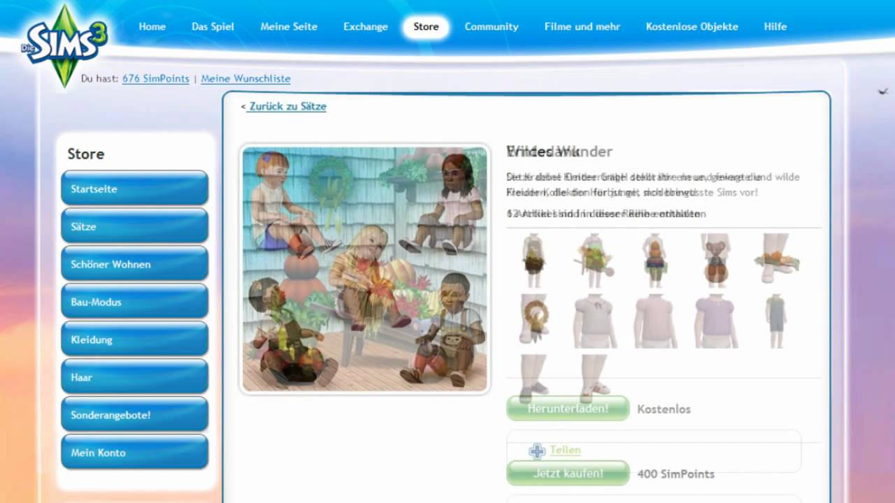 Die Sims 3 Store - Tutorial (Teil 1: Einleitung) - YouTube