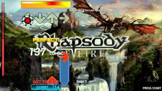 Stepmania - Rhapsody Of Fire Pack-Steel Gods of the Last Apocalypse