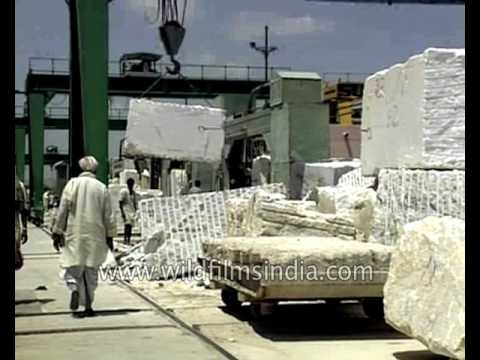 Asia's largest Marble market - Kishangarh in India