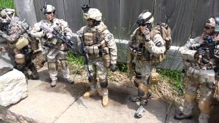 SPECIAL FORCES 1/6 MILITARY FIGURES 2013