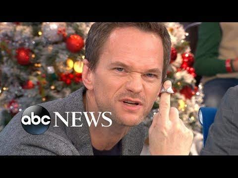 Neil Patrick Harris performs a live magic trick, thinks it's a 'really great hobby'