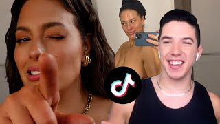 VLOG  On Set With HYRAM, My OWN Self Tanner, and TikTok | Ashley Graham