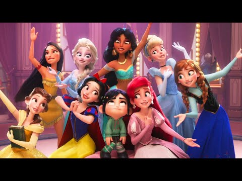 Wreck-It Ralph 2 EXTENDED DISNEY PRINCESS Clip - Ralph Breaks The Internet