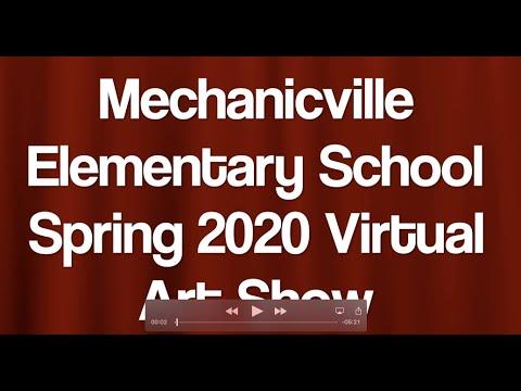 Mechanicville Elementary School 2020 Spring Art Show