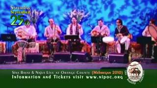 Sina Bayat & Najva . September 25th . Mehregan 2010 . Orange County