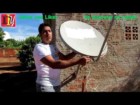 Apontamento  Antena Satélite Intelsat 21 58W  Nova TP 2016