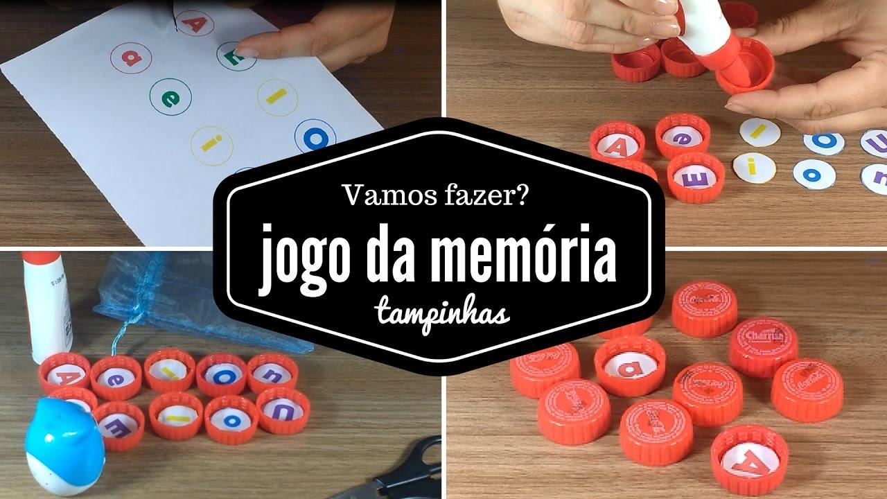 Jogo Da Memoria Das Vogais Educacao Infantil E Series Iniciais