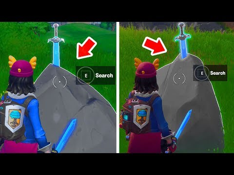 Search Skye's Sword In A Stone Found In High Places Fortnite