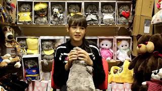 Кот Басик Подушка.  Видеообзор  мягких игрушек от магазина ПЛЮШЕВЫЙ ГОРОД