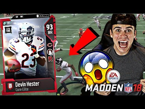 NEW LIMITED DEVIN HESTER SPINS OUT 6 PEOPLE ON ONE PLAY! Madden 18 Ultimate Team