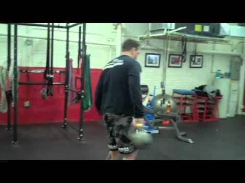 BJJ Workout- Kettlebell & Bodyweight Circuit