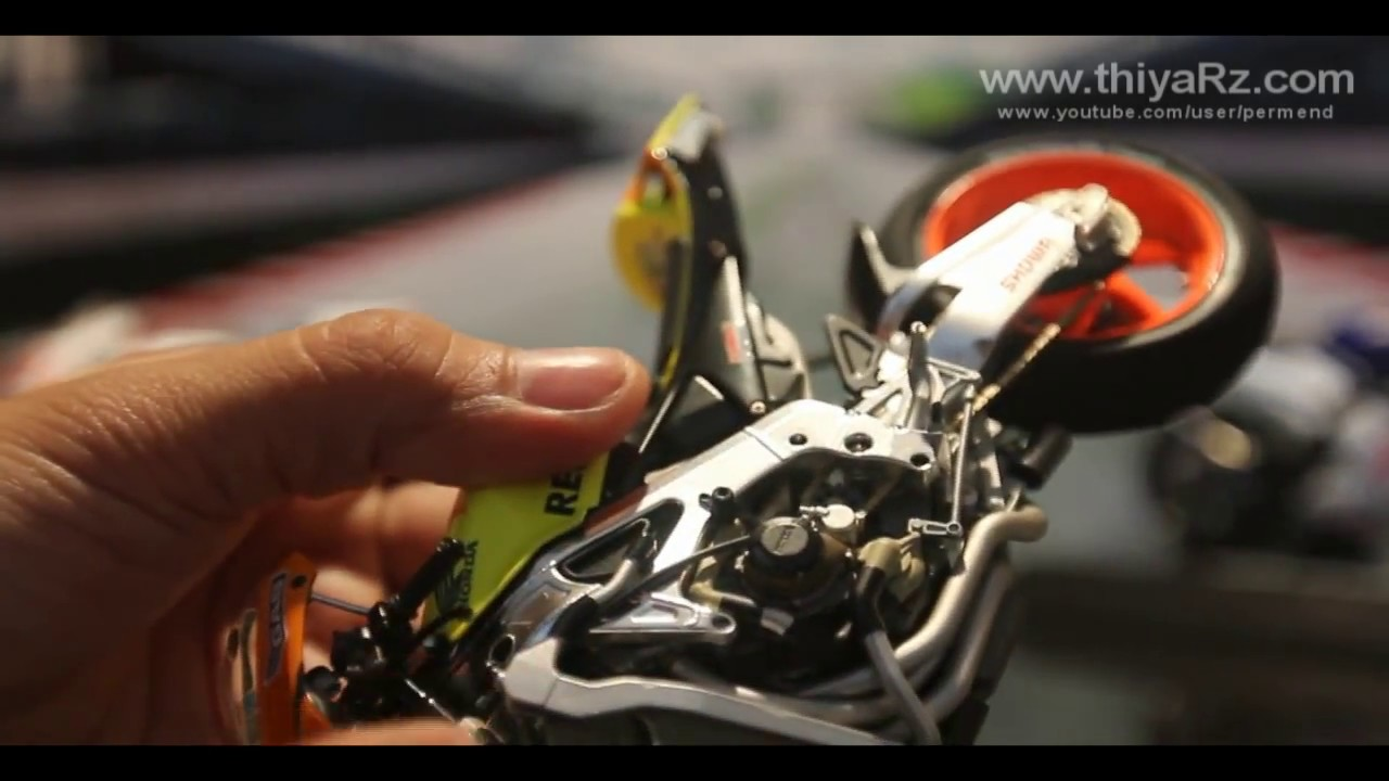 Masterwork Collection MotoGP By Tamiya (Full Review) HD - YouTube
