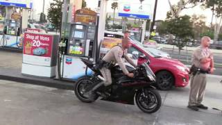 San Diego Motorcyclist Caught AFTER Chase 08192016