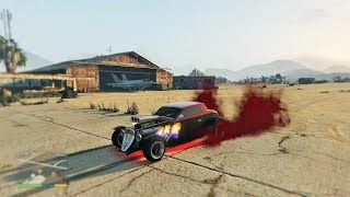 GTA 5 - BEST CAR + POLICE CHASE (HOTKNIFE)