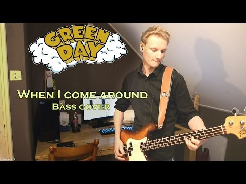 Green Day - When I come around :: Bass Cover