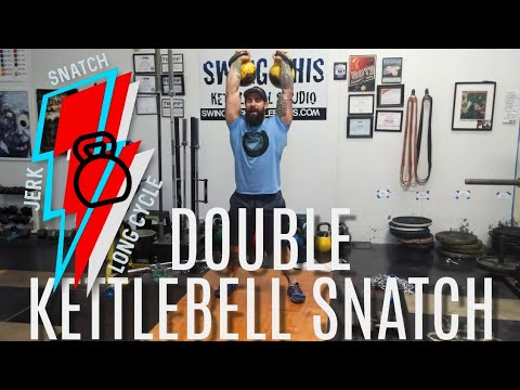 Double Kettlebell Snatch Technique: How to Perform it Safely