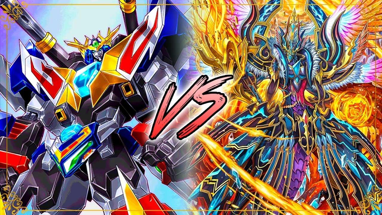 Cardfight!! Vanguard G: Dimensional Robos Vs. Revenger, Raging ...