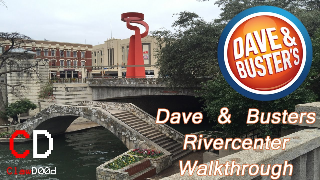 new dave and busters rivercenter walkthrough youtube rh youtube com dave and busters san antonio dave and busters san antonio