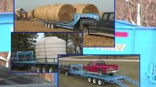 MultiTrailer 5th wheel bale / all loads trailer