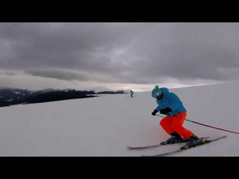 carving @ transalpina ski resort Romania quik gopro edit