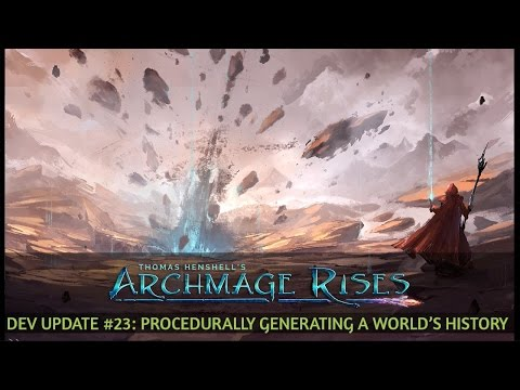 Video Update #23: Procedurally Generating a World's History
